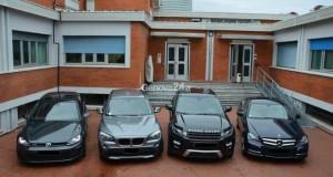 Riciclaggio suv rubati: le auto dirette in Africa. 7 arresti.