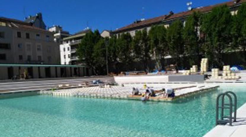 Milano riapre la storica piscina caimi in via botta for Piscina x cani milano