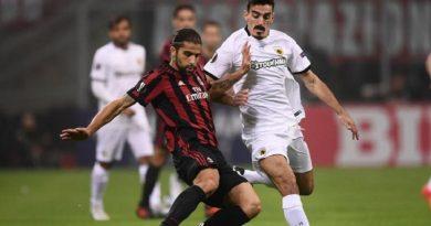 Milan-AEK Atene 0-0  –  Europa League. È un Milan che non sa più vincere.
