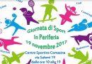 """Al Centro Sportivo di Via Salemi """"Giornata di sport in periferia"""""""