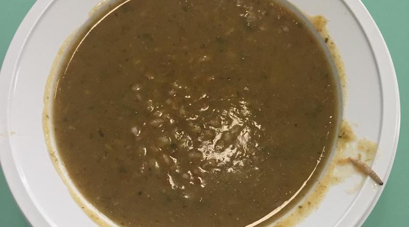 Alla mensa della scuola di via Vigevano spunta un verme nella zuppa di farro