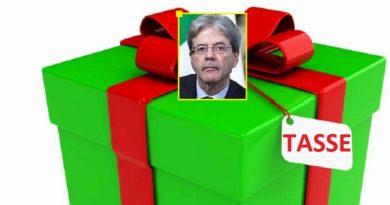 Regalo di Natale del Governo ad ogni lombardo: 180 euro di nuove tasse