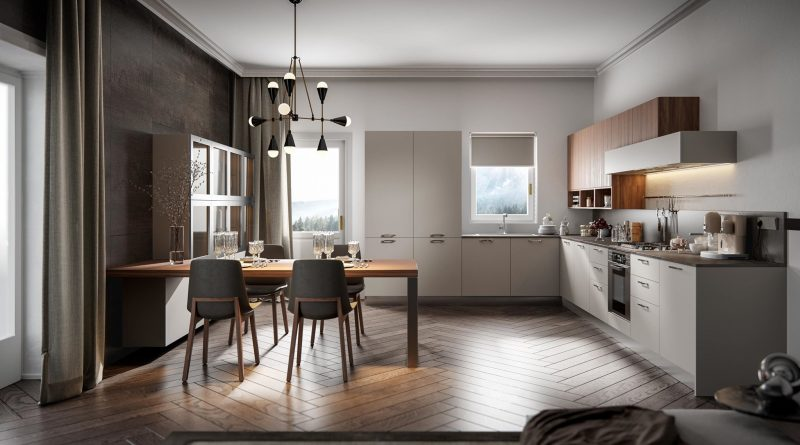 Ri genesi al salone del mobile ritorna home cucine e la for Home cucine