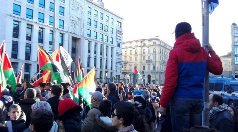 La Sinistra Milanese condanna senza atti concreti i cori genocidi degli Islamici