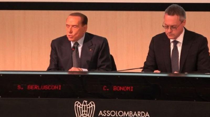 Berlusconi ad Assolombarda «arruola» gli imprenditori