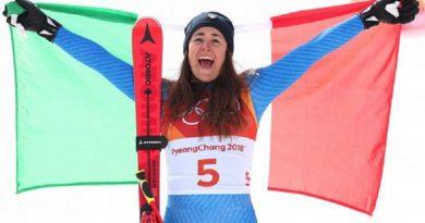 PyeongChang 2018: terzo oro all'Italia  con una splendida Goggia in discesa