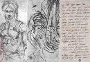 Autoritratto Michelangelo 'nascosto' in un disegno – caricatura