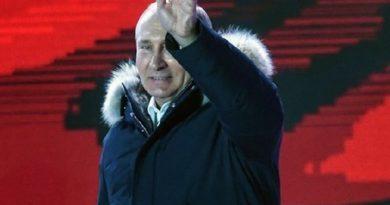 Elezioni russe: Putin trionfa col 74% dei voti