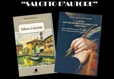 """Al """"Salotto d'autore"""" di Fidenza, Nene presenta il suo libro """"Milano si racconta..ieri e oggi"""""""