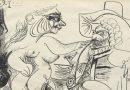 Pablo Picasso alla galleria Tega di Milano con venti opere su carta fino al 25 maggio 2018.