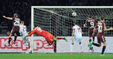 Quarto pareggio consecutivo. Il Milan non va oltre il pari a Torino.
