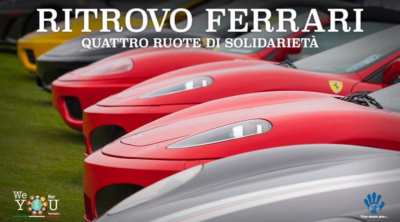 fca8830de9 Appuntamenti per il weekend: 15 Ferrari in mostra a Scalo Milano per  sostenere l'organizzazione We For You A - Milano Post