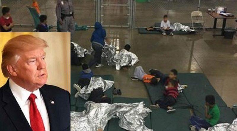 """Finalmente Trump: """"Firmerò un ordine per tenere unite le famiglie dei migranti al confine con il Messico"""""""