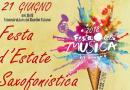 Varese, 21 giugno: un'orchestra di saxofoni celebra la Festa della Musica
