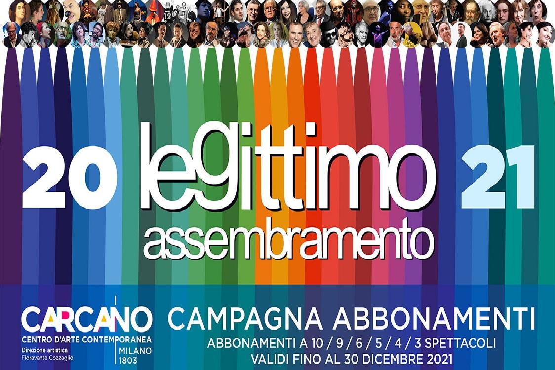 Teatro Carcano: Stagione 2020 - 2021 + RAFFAELLO con Vittorio Sgarbi da martedì 3 novembre - Milano Post